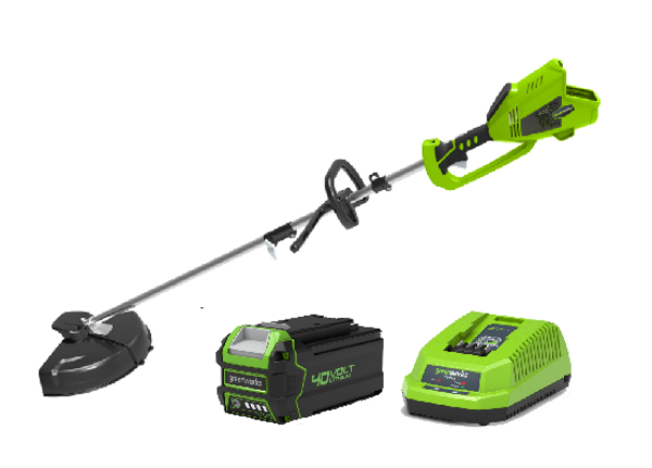 Picture of DECESPUGLIATORE A BATTERIA GD40BC VOLT 40 AH 4,0 BRUSHLESS GREENWORKS
