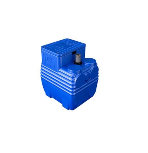 "Picture of VASCA DI SOLLEVAMENTO BLUEBOX 150 LITRI + FIX + PVC 1"" 1/2 NOGALL ZENIT"""