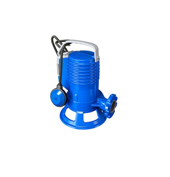 Picture of ELETTROPOMPA TRITURATRICE GR BLUEPRO 150 KW 1,1 VOLT 220 CON GALLEGGIANTE ZENIT